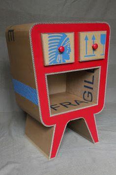 Brèves d'atelier: Meubles en carton