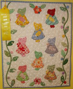 Free Sunbonnet Sue Patterns Downloads | Gallery at Sunday Best Quiltworks