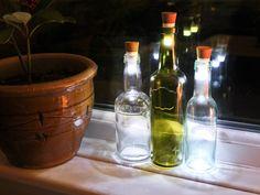 Flasklampan, Uppladdningsbar LED-lampa i form av en kork -CoolStuff.se