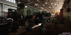 """BLACK PHOENIX"" PROJECT (10 DAYS OF MECH) Arachnid Tank - T1 by Vitaly Bulgarov -   http://www.bulgarov.com"