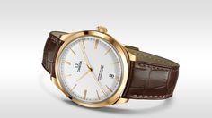 Omega - De Ville Trésor, ref.432.53.40.21.02.002 - Manual-winding mvm, cal.Omega 8511, 3.5Hz, 60hr p.r., date - 40mm, sedna gold case, silver dial ~12k