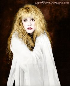 Loving the hand tinting she did here on #STEVIENICKS.  Awesome!