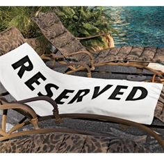 Reserved beach towel! I need this