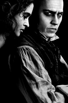 Helena Bonham Carter and Johnny Depp
