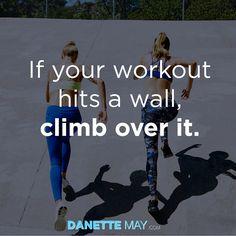 Climb over it!