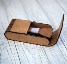 """Wooden Bow Tie """" Merbau - Business """" Wooden Bow Tie, Bow Ties, Latest Trends, Bows, Wallet, Business, Collection, Arches, Bowties"""