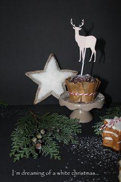 Christmas Cookie Club: 12. Türchen - Tannenbäumchen und Schoko-Cupcakes von Sunshine
