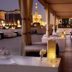 VIP Lounge at the Pure Nightclub in Las Vegas NV