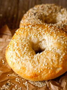 Two-Hour Bagels via Deliciously Yum!