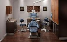 Dental office designed using Midmark's color selector! Dental Office Decor, Dental Offices, Dental Office Design, Office Designs, Office Ideas, Dental Cabinet, Clinic Design, Treatment Rooms, Clean Design