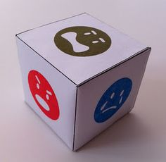 Louis Center for Play Therapy Training: Let's Make Feelings Dice! Emotions Game, Feelings Games, Teaching Emotions, Emotions Activities, Autism Activities, Feelings And Emotions, Teaching Kids, Emotions Preschool, Work Activities