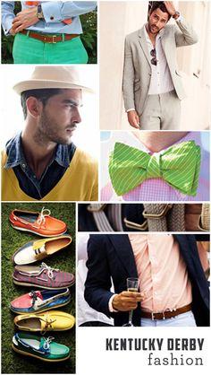 men's kentucky derby fashion