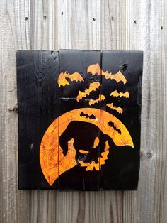 Oogie Boogie Man Inspired Halloween Wall Decor by jaredheartsangie, $30.00