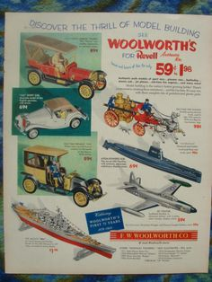 woolworth's revell ad