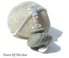 Beach Stone Necklace Truro Bay