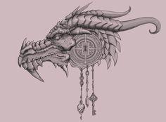 Dragon head icon by hodjii on DeviantArt Dragon Head Drawing, Dragon Bones, Mug Shots, Carving, Deviantart, Wallpaper, Drawings, Illustration, Crafts