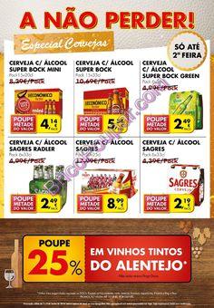 Antevisão folheto Pingo Doce - A não perder! Especial Cervejas - de 7 a 9 de Junho