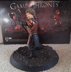 Game of Thrones Tyrion Lannister in Battle Statue HBO Dark Horse Peter Dinklage