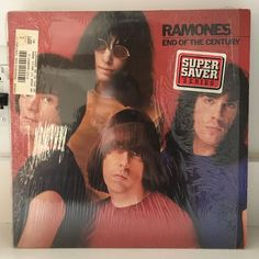 RAMONES End of the Century LP 1980 Sire SRK6077 EARLY PRESS IN SHRINK no barcode #PunkNewWave