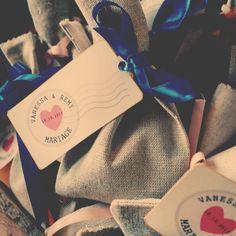 Création de cadeaux d'invités et d'étiquettes sur mesure *Les Créa d'Ema*