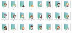 Ghibli Folder Icons by Ginokami6.deviantart.com on @DeviantArt