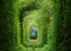 The Ukraine Tunnel of Love