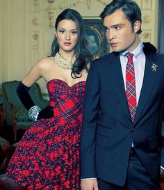 Blair Waldorf and Chuck Bass.