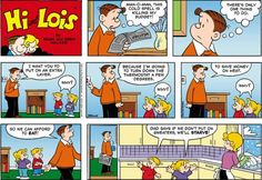 Hi and Lois Comics | Hi and Lois Cartoon for Jan/26/2014 | Sunday Comics…