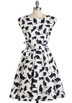 If I Cat Have You Dress | Mod Retro Vintage Dresses | ModCloth.com