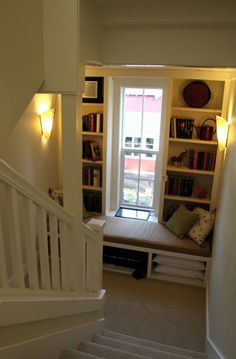 Plum Corner | Ross Chapin Architects dream home 3 bed nook, third story study