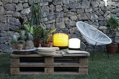 LZF Garden Party Pallet Table
