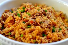 Cuscuz de Atum e Tomate Seco - http://gostinhos.com/cuscuz-de-atum-e-tomate-seco/