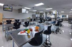 VoTech Culinary classroom / PHOTO COURTESY OF ROUND ROCK ISD'S CEDAR RIDGE HIGH SCHOOL, ROUND ROCK, TEXAS