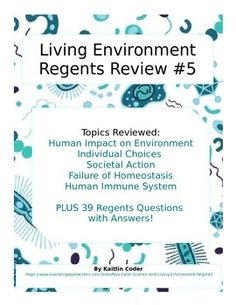 Living environment regents review packets editable bundle living living environment regents review packet 5 of 5 fandeluxe Choice Image