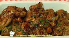Receta de higadillos de conejo al ajillo http://blgs.co/J_7uB3