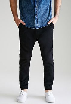 Paneled Chino Joggers | 21 MEN | #f21men