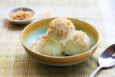 vegan banana coconut ice cream