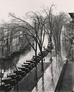 "WALKER EVANS, Saratoga Springs, New York, 1931, silver print, printed 1974, ed. 75, 11 11/16"" x 9 7/16"""