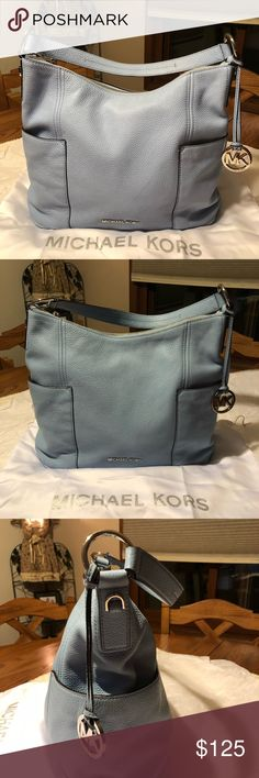 9aa147832a87 AUTHENTIC MICHAEL KORS ANITA HOBO BAG BEAUTIFUL SKY BLUE ANITA HOBO BAG IN  EXCELLENT CONDITION INSIDE