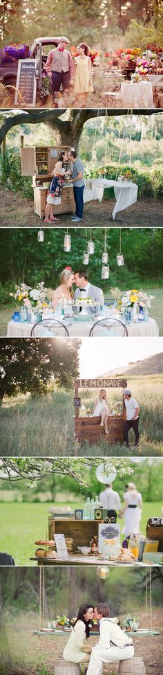 Engagement Scene DIY Design Ideas