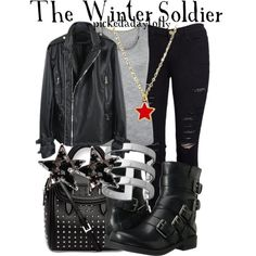 """""""The Winter Soldier"""" by pickedadaytofly on Polyvore"""