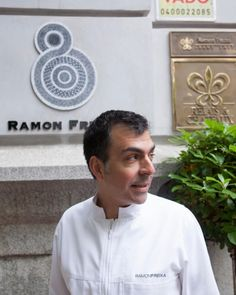 Michelin Star Chef Ramon Freixa. Madrid Spain #michelinstar...