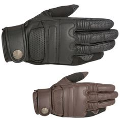 Alpinestars Mens Adult Robinson Leather Street Bike Riding Moto Motorcycle Glove