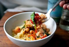 Cauliflower and Chickpea Stew - apparently, according to @Alyssa Charbonneau - SO GOOD