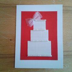 How to make a wedding card via @Guidecentral - Visit www.guidecentr.al for more #DIY #tutorials