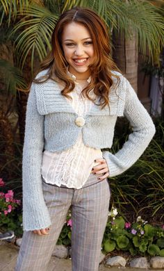 How Miley looked as a pre-teen