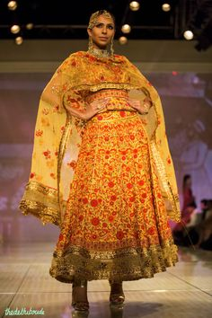 Tarun Tahiliani at India Bridal Fashion Week 2014 See the rest of the collection at http://thedelhibride.com/2014/08/08/tarun-tahiliani-india-bridal-fashion-week-2014/
