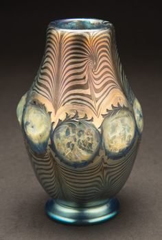 Tiffany Studios Decorated Window Vase #tiffanystudios #auction #michaans http://www.michaans.com/highlights/2013/highlights_05182013.php