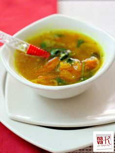 Turmeric Tomato Soup (Indian Style)