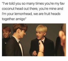 I can't stop laughing, help. Jungkook | Taehyung | BTS